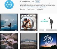 Instagram Design Ideas | 4 instagram accounts with bucketloads of image creation ideas