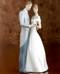 lladro wedding cake topper porcelain dolls wedding cake toppers and groom figurines