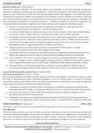 Model Resume For Accountant Sample Resume Cpa Excellent Date 5192011ivan Cindric Ca Cpa