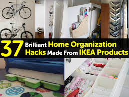 Home Organizing 37 Brilliant Home Organization Hacks Made From Ikea Products