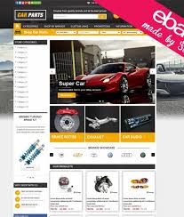 car parts ebay template store sonuts