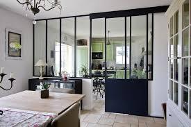 cuisine avec verriere interieur charmant verriere de separation interieure 12 d233co maison