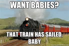 Train Meme - childfree missed train meme