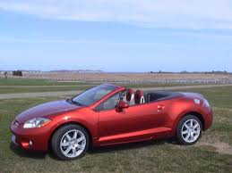 eclipse mitsubishi spyder mitsubishi eclipse spyder convertible review road test 2006 2007