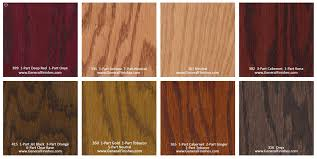 Stain Colors For Kitchen Cabinets by General Finishes Pro Floor Stain Color Swatch Chart For