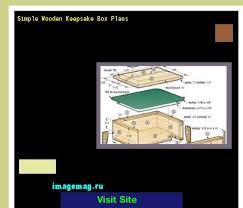 Free Wood Keepsake Box Plans by Simple Wooden Keepsake Box Plans 092609 The Best Image Search