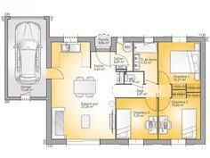 modele maison plain pied 4 chambres plans de maison rdc du modèle vexin maison traditionnelle à