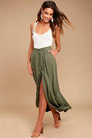 maxi skirt olive green skirt maxi skirt button up skirt 78 00