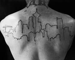 70 city skyline designs for downtown ink ideas