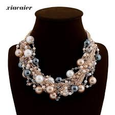 vintage chokers necklace images Xiacaier vintage chokers necklaces women simulated pearl gold jpg