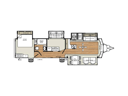 Sandpiper Rv Floor Plans by 2018 Forest River Sandpiper Destination 385fkbh Hugo Mn