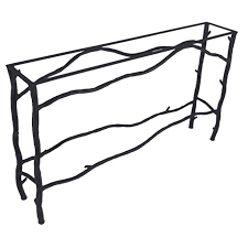 X Base Console Table Iron Console Table Base Extra Long South Fork