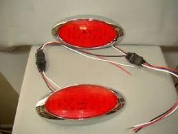 flush mount tail lights oval led tail lights custom taillights flush mount tail lights