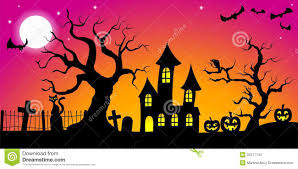 spooky clipart background pencil and in color spooky clipart