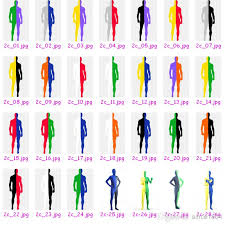 2 color combination 2018 hot combinations women men s bodysuit lycra spandex zentai