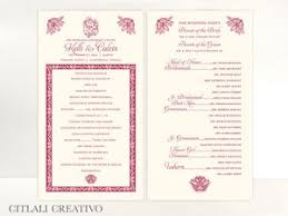 ceremony cards for weddings 42 best indian wedding invitations images on indian