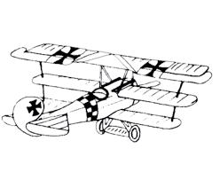 drawn aircraft war 1 aircraft pencil color drawn