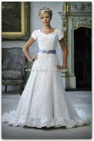 mormon wedding dresses this is regal looking i the ruffle at the bottom the