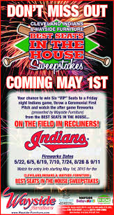 Wayside Furniture Akron by Wayside Furniture U0026 Cleveland Indians Bring You The