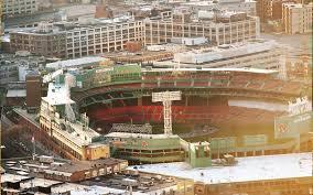Fenway Map Fenway Park Boston Red Sox Baseball