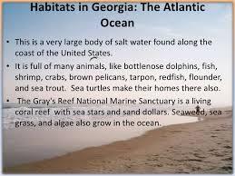 organisms habitats