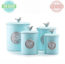 bird canister set ebay