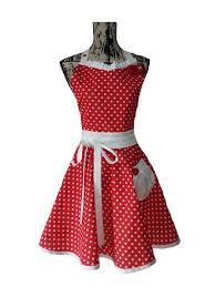 tablier de cuisine original femme tablier de cuisine rétro femme petits pois vintage cuisine et