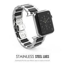 pebble watch amazon black friday amazon com apple watch band series 1 series 2 moko stainless