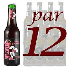 levrette sur canapé levrette cherry 25 cl par 12 achat vente bière levrette cherry