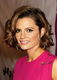 Curly Bob Frisuren by Stana Katic Curly Bob Hairstyle For Faces Haar