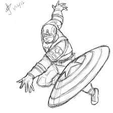 captain america throws shield by jzjzforever on deviantart