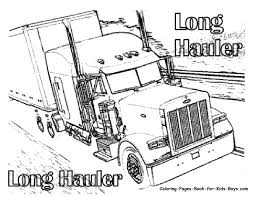 monster trucks coloring pages 12 semi truck coloring page big rig truck coloring pages free 18