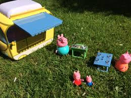 Wind Out Awning First Two Then Blue In Review Peppa Pig Campervan Playset