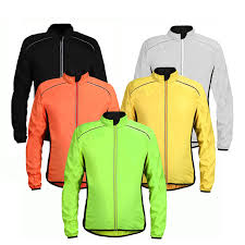 cycling windbreaker jacket wosawe tour de france cycling jacket reflective breathable bike