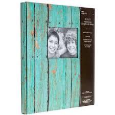 8 5 x 11 photo album turquoise wood print post bound album 8 1 2 x 11 hobby lobby