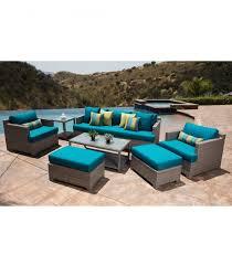 Newport Patio Furniture by Patio Furniture Newport Outdoor Espresso Brown Wicker 6 Piece