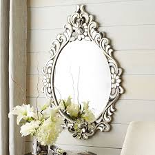Oval Mirrors For Bathroom by Juliette Teardrop Oval Mirror Pier 1 Imports