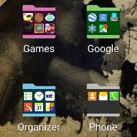 how to make folders on android to create app folders in the app drawer of the galaxy s6 and