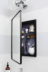 Recessed Wall Cabinet Bathroom by Best 25 Bathroom Mirror Cabinet Ideas On Pinterest Mirror