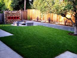 Concrete Backyard Ideas Concrete Backyard Makeover Large And Beautiful Photos Photo To