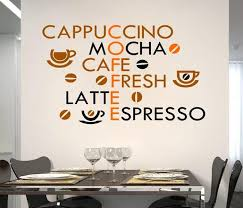 Coffee Wall Decor For Kitchen Aliexpress Com Buy Creative Coffee Wall Stickers Home Decor