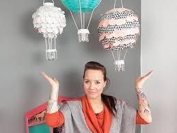heißluftballon kinderzimmer heißluftballon le für das kinderzimmer basteln