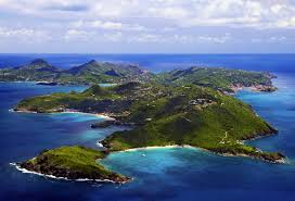 St Barts Map by St Barts St Barths Or St Barthelemy Yacht Charters