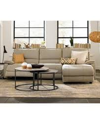 Macys Sectional Sofas by Caruso Leather Power Motion Sectional Sofa Living Room Furniture