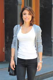bethenny frankel seen out and about in tribeca nyc hair