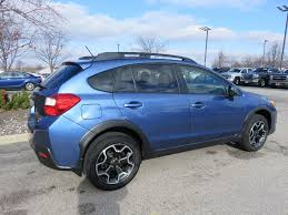 subaru crosstrek lifted 2015 used subaru xv crosstrek 2 0 limited awd heated leather