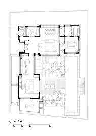 Modern Family House Floor Plan by House In Ramat Hasharon By Levy Chamizer Architects Space
