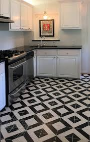 black and white kitchen floor images always on trend black and white cement tile cement style