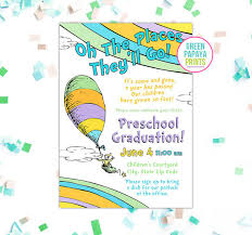 oh the places you ll go graduation oh the places you ll go graduation invitation printable