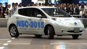 nissan leaf sri lanka nissan nsc 2015 drives and parks automatically in a shopping mall
